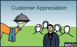Wurlwind Social Selling - Customer Appreciation